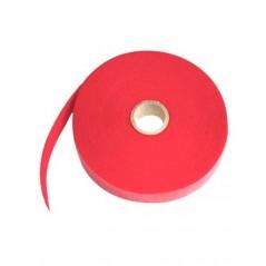 Rollo De Cinta De Contacto Velcro De 25 Metros Abrazadera Tipo Velcro De Rojo Para Organizador De Cables