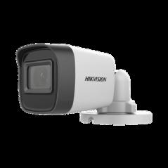 Bala TURBOHD 2 Megapíxeles (1080p) / Gran Angular 99° / Lente 2.8 mm / 30 mts IR EXIR / Exterior IP67 / 4 Tecnologías