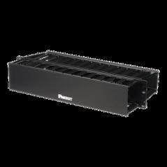 Organizador de Cables Horizontal PatchLink, Doble (Frontal y Posterior), Para Rack de 19in, 2UR