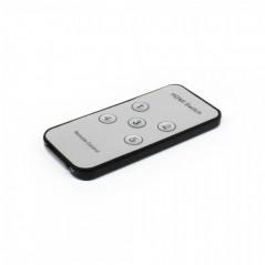 Switch 5 x 1 HDMI Switch HDMI con control remoto Divisor HDMI 5 entradas 1 Salida, 5 puertos a 1 puerto HDMI