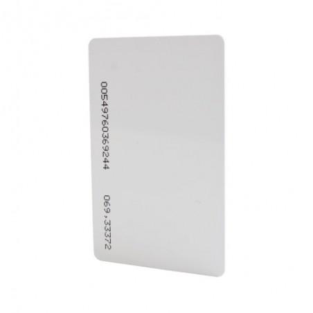 (Venta x pieza) Tarjeta de Proximidad Estándar ISO Card (delgada). De las más alta calidad para Impresión