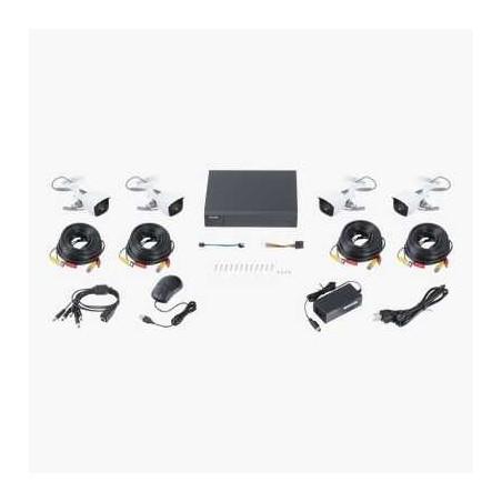 Camara tipo Bala TurboHD 4 MP / IP66 / lente 2.8 mm / EXIR 40m / fabricada en metal / 4 en 1 / 12VCD
