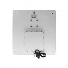 Canaleta 2 Vías 4820 Pvc 10 Cables 48mmx20mmx2m Redes Plastica de 10 a 12 cables