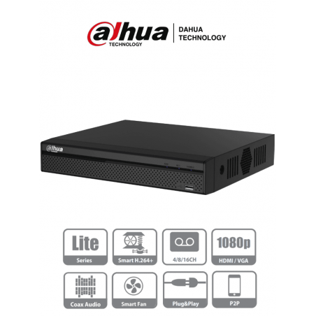 Bullet TURBO HD 1080p / METÁLICA / Lente 2.8 mm / Híbrida / Gran Angular 103° / IR EXIR Inteligente 20 mts / Exterior IP66