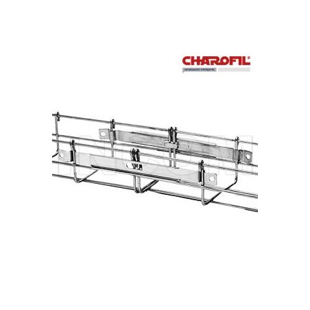 Clip Recto Automático para unir tramos de charola, con acabado Electro Zinc CLIP para Charola Charofil