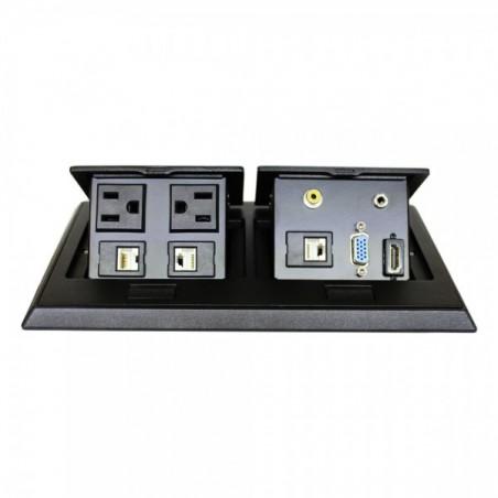 Panel de conectores para escritorio panel de conexiones para escritorio Placa de conexiones para escritorio