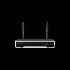 NVR 4 Megapixel / 8 canales IP / 1 Bahía de HD / 2 Antenas Wi-Fi / Vídeo Full HD Grabador DVR inalambrico para Camaras wifi