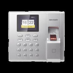 Terminal de Control de Acceso y Asistencia compatible con APP Hik-Connect (P2P) / Lectura de Huella hasta 1000 Huellas