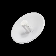 PowerBeam airMAX M5, hasta 150 Mbps, frecuencia 5 GHz (5170-5875 MHz) con antena tipo plato de 22 dBi