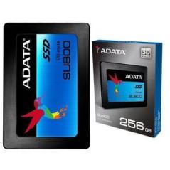 Disco sólido SSD interno Adata Ultimate SU800 ASU800SS-256GT-C 256GB negro
