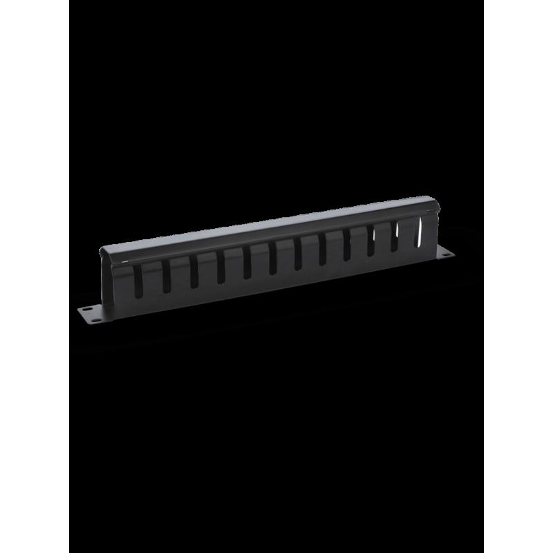 "Organizador de cables horizontal 19"", 1Ur Organizador de Cable para Rack Organizador de 1 unidad"