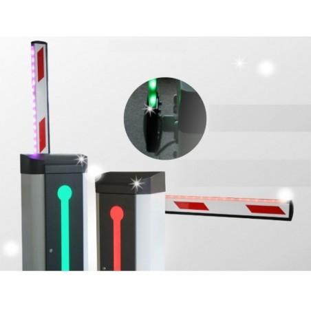 Brazo recto para barrera LED de 4 Metros / Compatible con barrera LED izquierda y Derecha (Diestra) WJ120L64