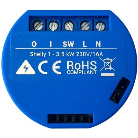 Relevador / Interruptor WIFI INDUSTRIAL Industrial y residencial inteligente / Hasta 16A / Soporta Google /Alexa / Nube P2P