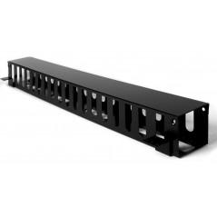 Organizador de Cable Vertical Grande de 24 Unidades Rack. Organizador vertical para rack Organizador de 24ur