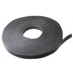 Rollo de Velcro de 19mm x 22.9 Metros Marca Velcro Tira de Velcro Velcro para Cable Organizador de Cable