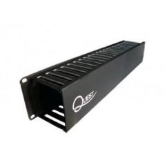 """Organizador Doble AMP Orgnizador AMP para Rack de 19"""" Organizador para Rack - Gabinete de 19"""" Organizador de Cable"""