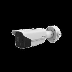 Bullet IP Térmica de Alta Precisión Medición Multiple para Areas de Alto Flujo de Objetos Cámara Termómetro