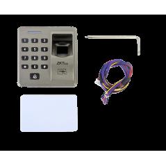 Lector de huella, teclado, proximidad, compatible con paneles Control de Acceso Lector Sencillo de Huella y Tarjeta