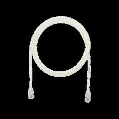 Rollo de Cinta de Contacto Blanco 25m Abrazadera para cables Correa para cables agrupa cables Redes Telecom Telefonía UTP
