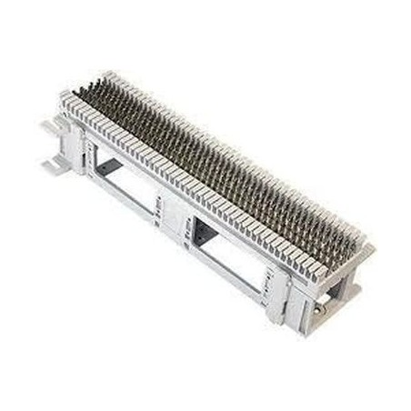 Bloque de Conexión S66, Capacidad de 50 Pares, Cat5e, Para Cable Sólido 22 a 26 AWG Regleta de 50 pares tipo 66