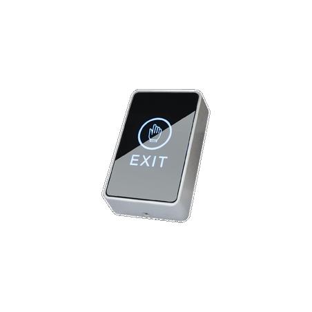 Botón de salida sensible al tacto / Diseño moderno Boton para control de Acceso Botón liberador Contra chapa Electroimán imán