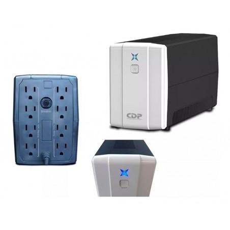 UPS Chicago Digital Power R-Series R-UPR 1008 1000VA entrada y salida de 120V CA negro y blanco 1kva