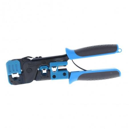 Pinzas para plegar cables UTP5 y UTP6 con Cavidades para RJ11 de 4 y 6 hilos y RJ45 Pinza Ponchadora