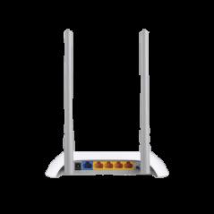Router Inalámbrico WISP, 2.4 GHz, 300 Mbps, 2 omnidireccional 4 Puertos LAN 10/100 Mbps, 1 Puerto WAN