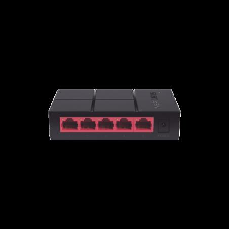 Switch no administrable para escritorio de 5 puertos 10/100/1000 Mbps Switch Giga de 5 puertos