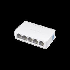 Switch no administrable para escritorio de 5 puertos 10/100 Mbps Divisor de Internet Switch para Escritorio 5 puertos