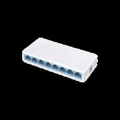 Switch no administrable para escritorio 8 puertos 10/100 Mbps Switch 8 puertos divisor de Señal de internet