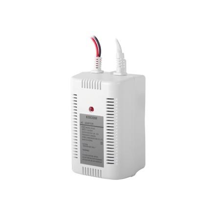 Adaptador de pared 15Vcd / Compatible con sistemas KOCOM 410 Fuente para sistema departamental Portero automático para Deptos