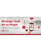 Paquete de Alarma para Casa Alarma Wifi, Alarma inalambrica, Alarma sirena