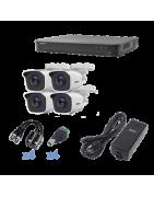 Paquete de 4 Camaras de Seguridad, Paquete de Camaras, Camaras de Seguridad, Camaras para exterior Camaras Wifi