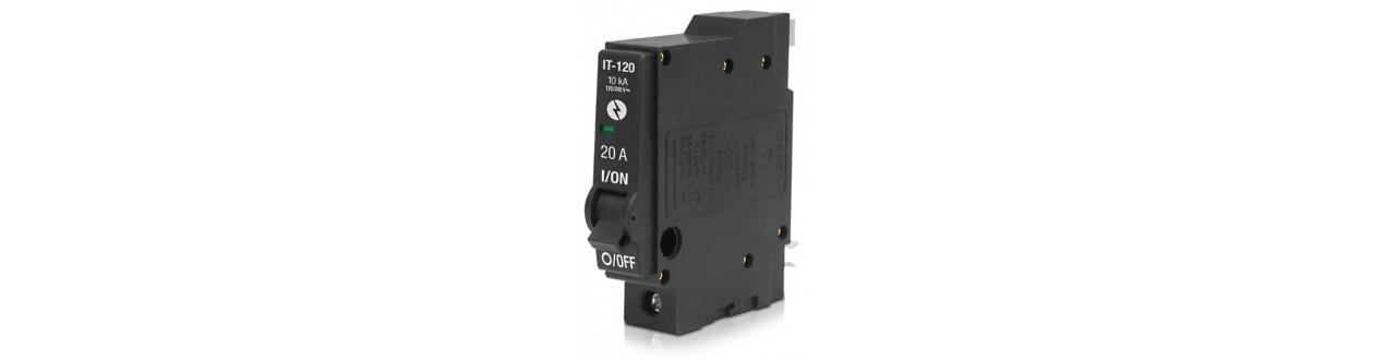 Interruptores Termomagnéticos y centros de carga