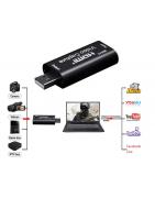 Convertidor de USB, Convertidor HDMI, Convertidor VGA, Convertidor de Video